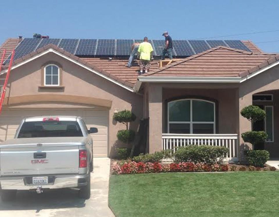 California Building Structures-Portfolio-Residential Solar-Dennis